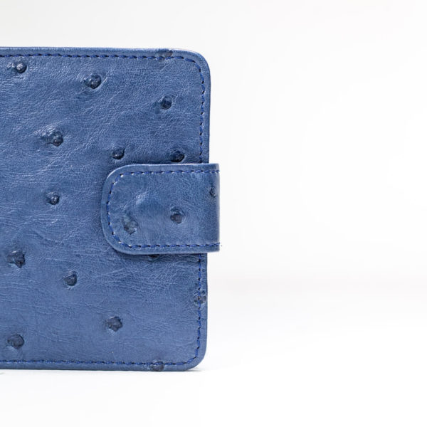 A05T.OS - Ostrich Leather Mens wallet with tab